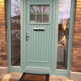 Dillon - chartwell green door & sides