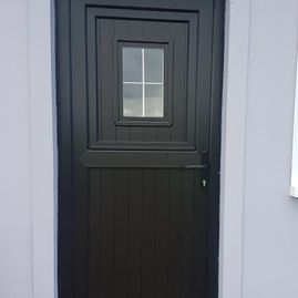 Black Stable Door