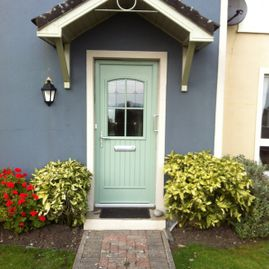 Dillon - green composite door